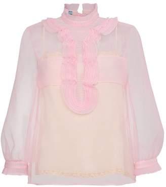 4469b951a2edc9 Pink Sheer Top - ShopStyle UK
