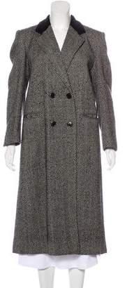 Burberry Vintage Herringbone Coat
