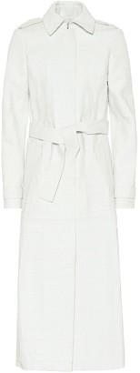 Gabriela Hearst Silverira leather coat