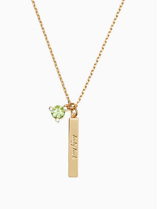 Kate Spade Born To Be August Pendant