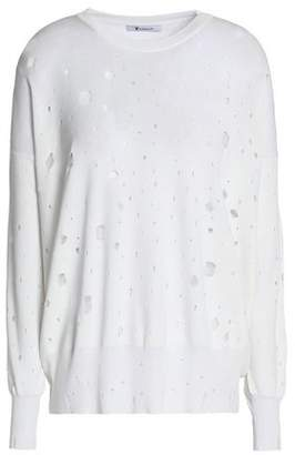 Alexander Wang Distressed Terry Sweatshirt