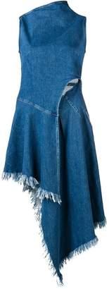7 For All Mankind asymmetric denim dress