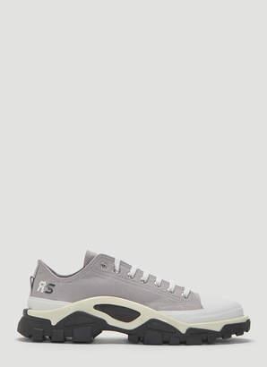 b93a3a1901bfa Adidas By Raf Simons X adidas Detroit Runner Sneakers in Grey
