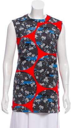 Opening Ceremony Floral Print Sleeveless Tunic