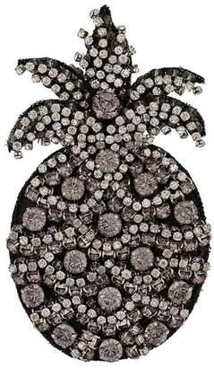 No.21 embellished pineapple brooch