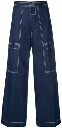 Acne Studios Hill Dye carpenter jeans
