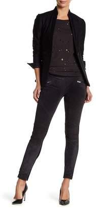 Blank NYC BLANKNYC Denim Leather Pull-On Leggings