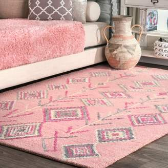 b438f135a35 Bungalow Rose Van Hand-Tufted Pink Gray Area Rug