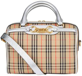 Burberry Small 1983 Check Link Bowling Bag