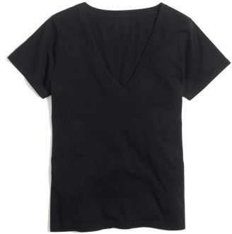 Women's J.crew Supima Cotton V-Neck Tee $29.50 thestylecure.com