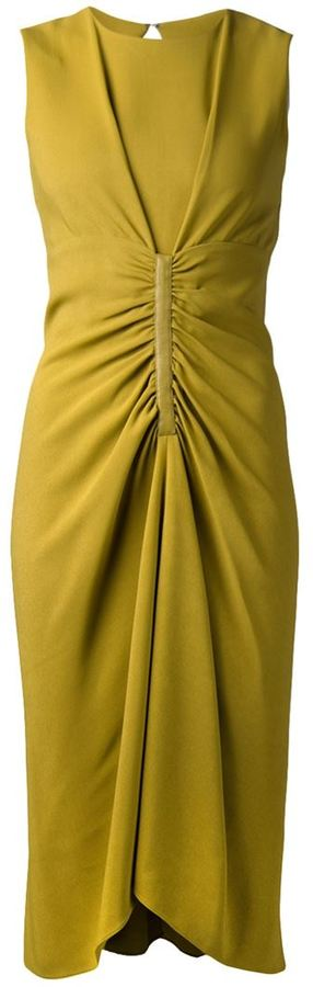 Reed Krakoff ruch front dress