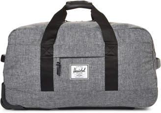 Herschel Raven Crosshatch Wheelie Duffel Bag