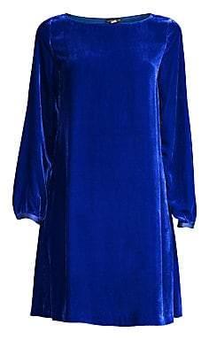 Eileen Fisher Women's Velvet Shift Dress