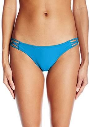 Volcom Women's Simply Solid Full Bikini Bottom