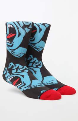 Santa Cruz Screaming Hand Crew Socks