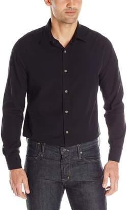Nautica Men's Solid Seersucker Shirt