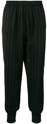 Juun.J drop-crotch tapered trousers
