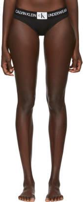 Calvin Klein Underwear Black Monogram Briefs