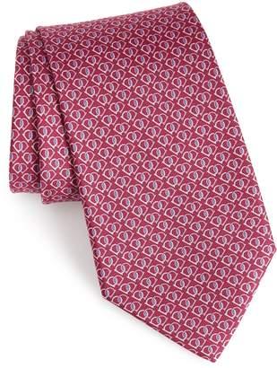 Salvatore Ferragamo Fioco Print Silk Tie