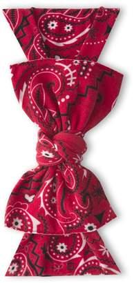 Baby Bling Printed Knot Cherry Bandana
