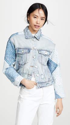 Blank Patchwork Jacket