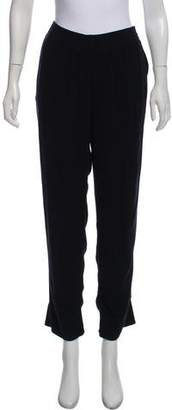 Raquel Allegra High-Rise Cropped Pants