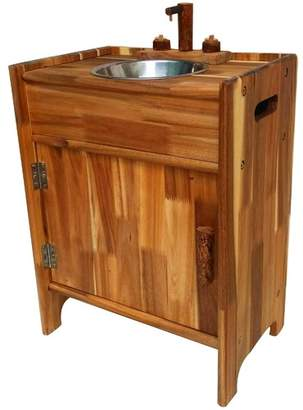 Kids' HaNOi Natural Wooden Sink