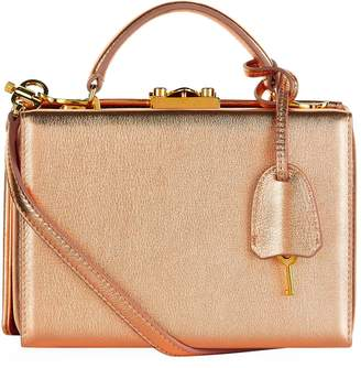 Mark Cross Small Metallic Grace Box Bag