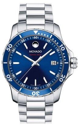 Movado 'Series 800' Bracelet Watch, 40Mm $895 thestylecure.com