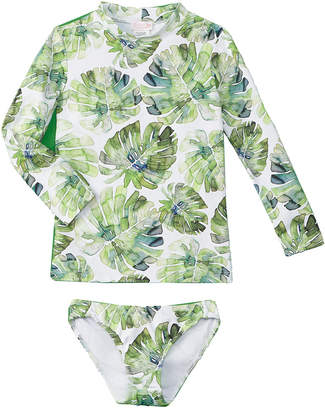 Shoshanna Girls' Rash Guard Set