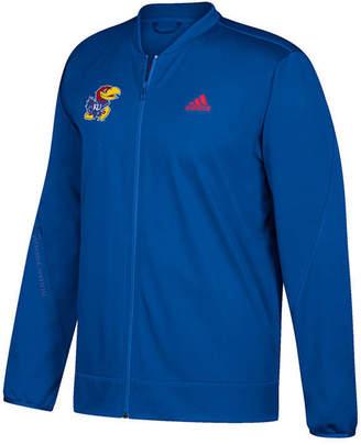 adidas Men's Kansas Jayhawks Basketball Warm Up Jacket