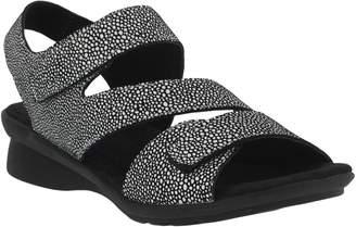 Spring Step Adjustable Leather Sandals - Nadezhda