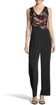 Label By 5twelve Floral Mesh Sleeveless Jumpsuit