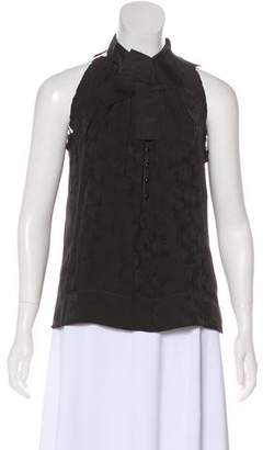 Marc Jacobs Sleeveless Silk-Blend Top