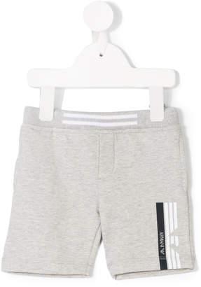 Emporio Armani Kids stripe-trimmed track shorts