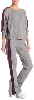 Splendid Campside Side Stripe Sweatpants