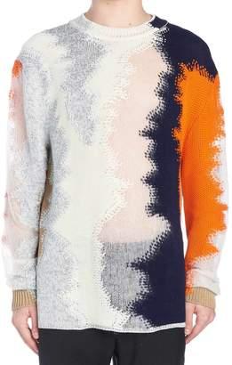 Jil Sander abstract Sweater