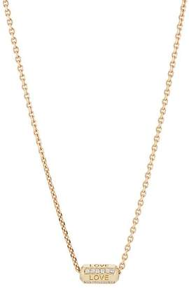Luis Morais Men's Love Bead Necklace - Gold