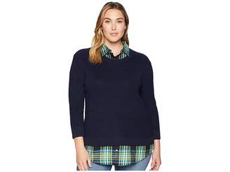 Lauren Ralph Lauren Plus Size Layered Shirt