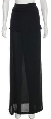 A.L.C. Woven Maxi Skirt