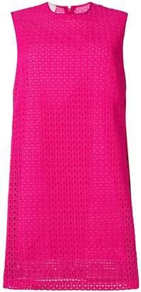 Pinko perforated shift dress