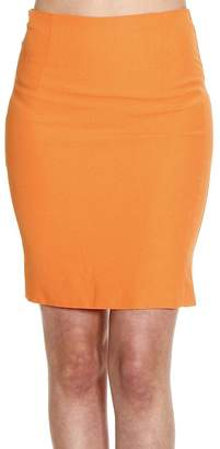 Patrizia Pepe Skirt Skirt Pencil Or Sheath Dress Cady Stretch