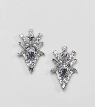True Decadence rhinestone stud earrings