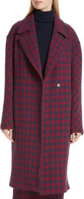 A.L.C. Copeland Check Crepe Coat