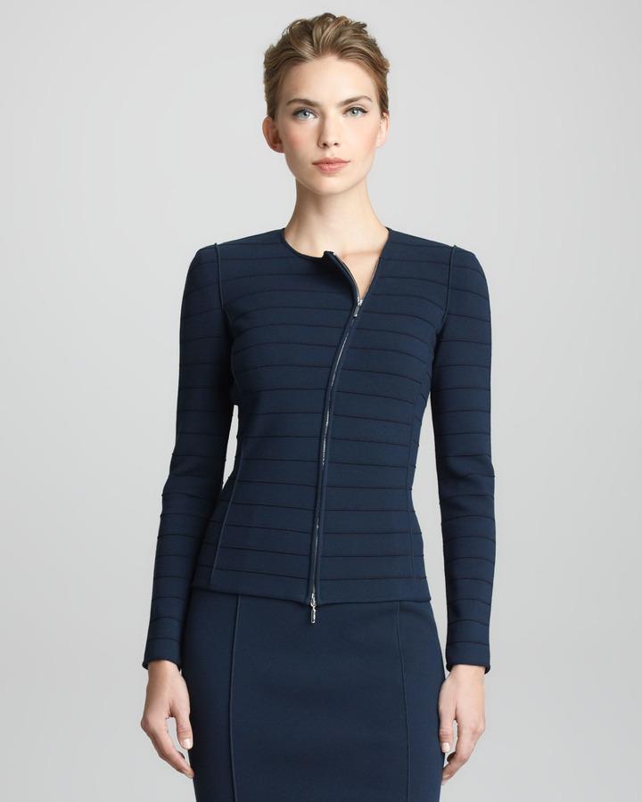 Giorgio Armani Jersey Zip Jacket