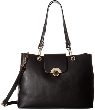Tommy Hilfiger Effort Novelty Convertible Tote $148 thestylecure.com