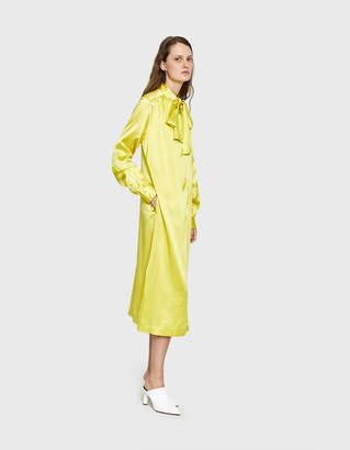 Saks Potts Poppy Celery Dress