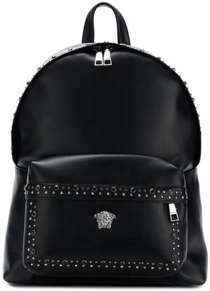 Versace studded Medusa backpack
