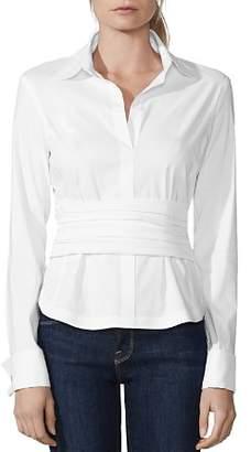 Bailey 44 Stud Poker Ruched-Waist Shirt
