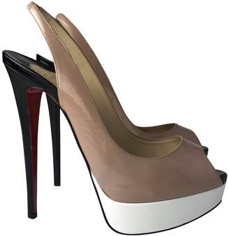Christian Louboutin Private Number patent leather heels